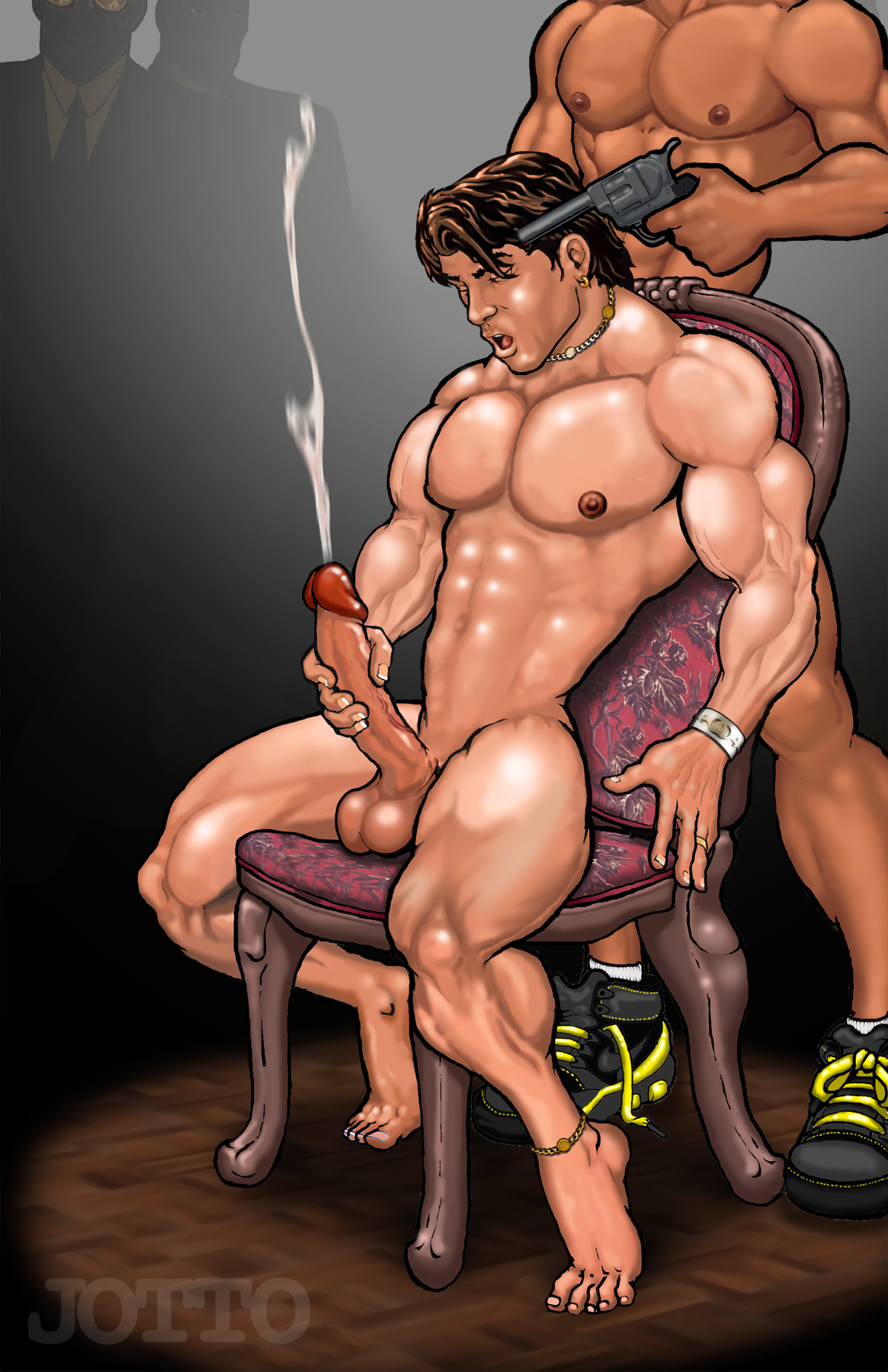 Soo sweet Cock milking cartoon fantasy