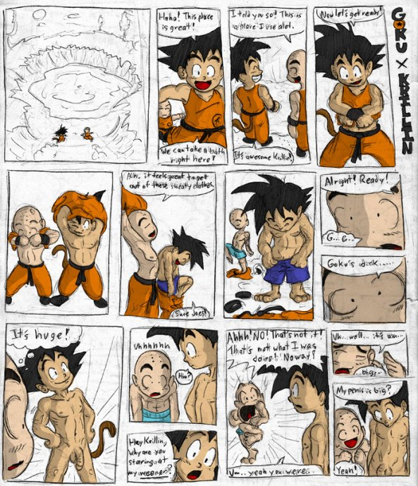 dragon ball z naked toons