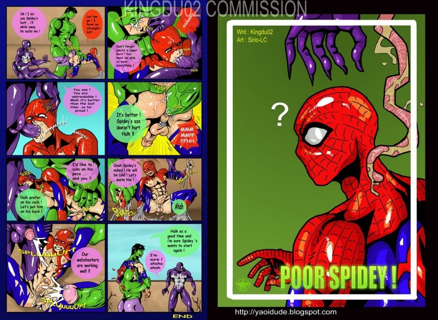 Poor Spidey Comics - z5 - Yaoi Toons Archive