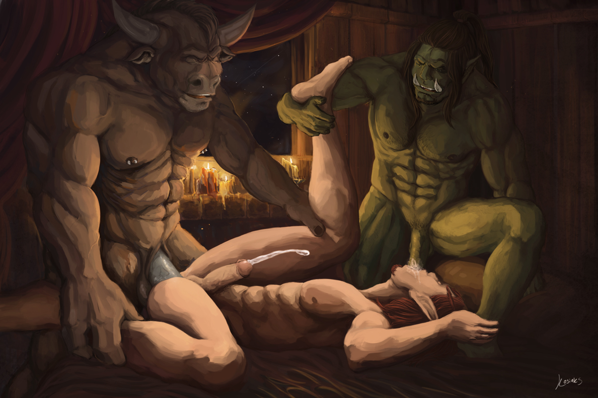 Fantasy role play gay porn